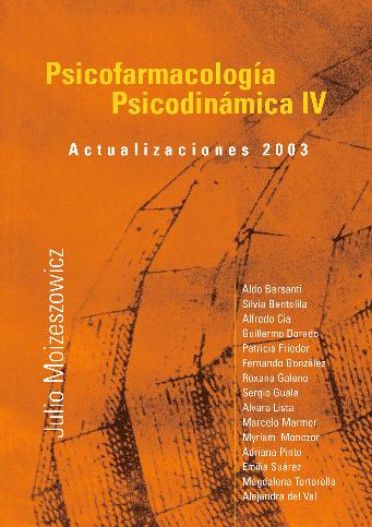 Psicofarmacología Psicodinámica IV
